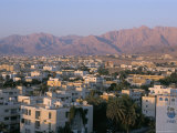 View of the City, Aqaba, Jordan, Middle East Photographic Print by Alison Wright