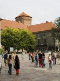 Royal Castle Area, Krakow (Cracow), Unesco World Heritage Site, Poland Photographic Print by  R H Productions