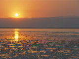 Sunset on the Dead Sea, Jordan, Middle East Photographic Print by Alison Wright