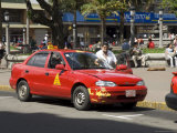 Taxis, San Jose, Costa Rica, Central America Photographic Print by  R H Productions