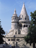 The Fisherman's Bastion in the Castle Area of Old Buda, Budapest, Hungary Photographic Print by  R H Productions