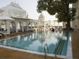 The Lake Palace Hotel on Lake Pichola, Udaipur, Rajasthan State, India Photographic Print by  R H Productions
