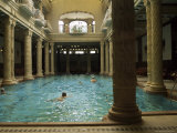The Famous Gellert Spa in Buda, Budapest, Hungary Photographic Print by  R H Productions