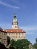 Hradek or Little Castle with Its Distinctive Tower, Cesky Krumlov, Czech Republic Photographic Print by  R H Productions