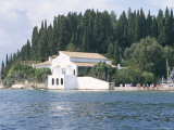 Lawrence Durrell's House, Kouloura, Corfu, Greek Islands, Greece Fotoprint van  R H Productions