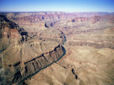 Grand Canyon, from Helicopter, Unesco World Heritage Site, Arizona, USA Photographic Print by  R H Productions