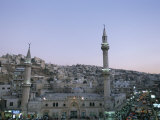 Hussein Mosque and City, Amman, Jordan, Middle East Photographic Print by Alison Wright
