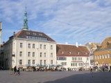 Town Hall Square, Old Tallinn, Tallinn, Estonia, Baltic States Photographic Print by  R H Productions
