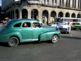 Old American Cars, Havana, Cuba, West Indies, Central America Photographic Print by  R H Productions