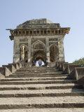 Ashrafi Mahal, a Madrasa or Religious School, Mandu, Madhya Pradesh State, India Photographic Print by  R H Productions