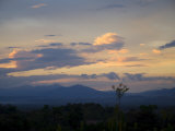 Sunset in the Manuel Antonio Area, Pacific Coast, Costa Rica, Central America Photographic Print by  R H Productions