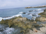 Ocean Front on the Mediterranean Sea, Beirut, Lebanon, Middle East Photographic Print by Alison Wright