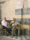 Smoking Water Pipes, Damascus, Syria, Middle East Photographic Print by Alison Wright