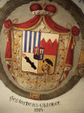 Coat of Arms of the Swartzenberg Family, the Castle, Cesky Krumlov, Czech Republic Photographic Print by  R H Productions