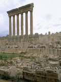 Ruins of Baalbek, Unesco World Heritage Site, Lebanon, Middle East Photographic Print by Alison Wright