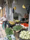 Vegetable Shop in the Armenian Area, Aleppo, Syria, Middle East Photographic Print by Alison Wright