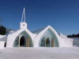 Ice Chapel, Ice Hotel, Quebec, Quebec, Canada Photographic Print by Alison Wright