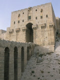 The Citadel, Unesco World Heritage Site, Aleppo, Syria, Middle East Photographic Print by Alison Wright
