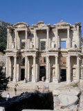 Reconstructed Library, Ephesus, Anatolia, Turkey Photographic Print by R H Productions