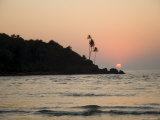 Sunset Over the Arabian Sea, Mobor, Goa, India Photographic Print by  R H Productions