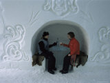 Ice Bar, Ice Hotel, Quebec, Quebec, Canada Photographic Print by Alison Wright