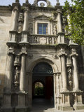 Entrance to College of Fonseca, Santiago De Compostela, Galicia, Spain Photographic Print by  R H Productions
