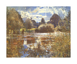 The Full River Premium Giclee Print by Sir Alfred Munnings
