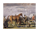 The Red Prince Mare Premium Giclee Print by Sir Alfred Munnings
