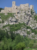 Strecno Castle, Vah Valley, Slovakia Photographic Print by  Upperhall