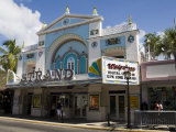 Movie Theater Converted into Shop, Duval Street, Key West, Florida, USA Photographic Print by  R H Productions