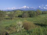 High Tatra Mountains from Near Poprad, Slovakia Photographic Print by  Upperhall