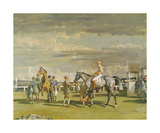 After The Race Premium Giclee Print by Sir Alfred Munnings