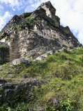 Eastern Facade, Xunantunich, Belize, Central America Photographic Print by  Upperhall