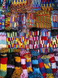 Friendship Bracelets, Panajachel, Lake Atitlan, Guatemala, Central America Photographic Print by  Upperhall