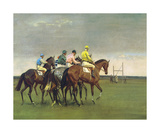 October Meeting Premium Giclee Print by Sir Alfred Munnings