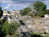 North Acropolis, Tikal, Unesco World Heritage Site, Guatemala, Central America Photographic Print by  Upperhall