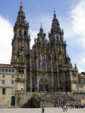 Santiago Cathedral on the Plaza Do Obradoiro, Santiago De Compostela, Spain Photographic Print by  R H Productions