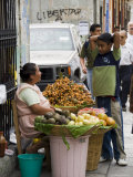 Street Vendor, Oaxaca City, Oaxaca, Mexico, North America Photographic Print by  R H Productions