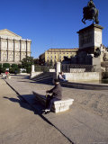 Plaza De Oriente, Madrid, Spain Photographic Print by  Upperhall