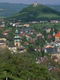 View Over the Town, Banska Stiavnica, Unesco World Heritage Site, Slovakia Photographic Print by Upperhall