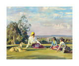 Gypsy Tales Premium Giclee Print by Sir Alfred Munnings