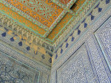Painted Ceiling, the Harem, Tash Khauli Palace, Khiva, Uzbekistan, Central Asia Photographic Print by  Upperhall