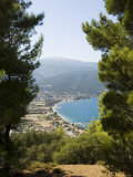 View from Top of Hill Near Sami, Kefalonia (Cephalonia), Ionian Islands, Greece Photographic Print by  R H Productions