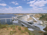 Alqueva Dam, Portugal's Largest Dam, Near the Spanish Border, Alentejo Region, Portugal Photographic Print by R H Productions