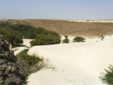 Desert and Sand Dunes in the Middle of Boa Vista, Cape Verde Islands, Africa Photographic Print by  R H Productions