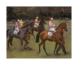 At The Races (Going Out At Kempton) Premium Giclee Print by Sir Alfred Munnings