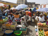 Municipal Market at Assomada, Santiago, Cape Verde Islands, Africa Photographic Print by  R H Productions