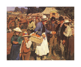 A Gala Day Premium Giclee Print by Sir Alfred Munnings