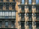 Balconies on Houses, Igl S Isid, Madrid, Spain Photographic Print by  Upperhall