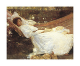 The Arbour Premium Giclee Print by Sir Alfred Munnings